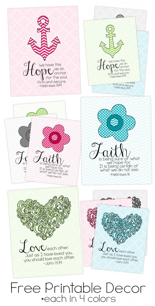 Adorable image throughout printable scripture