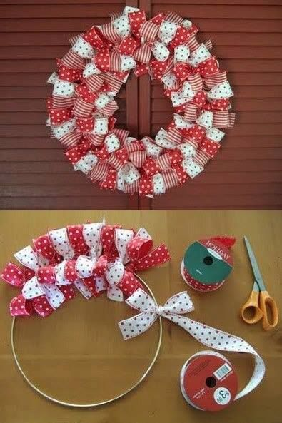 Pinterest Ribbon Wreath