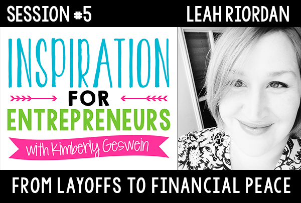 KG 005: Leah Riordan: From Layoffs to Financial Peace