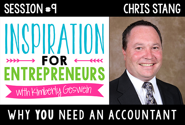 Chris Stang: Why You Need An Accountant