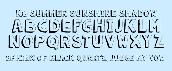 Outline Fonts – Kimberly Geswein Fonts