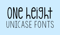 Unicase Fonts Kimberly Geswein Fonts